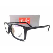 Armação Óculos Ray Ban Rb8904 Quadrada Substituir Lente Nova
