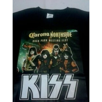 Kiss Playera Corona Northside