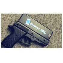 Funda 3d Tipo Pistola Negra Para Iphone 6 / 6s