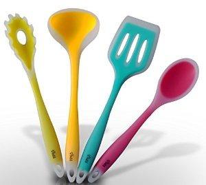 Silicona premium cocina utensilios set traiga un toque de - Utensilios de cocina de silicona ...