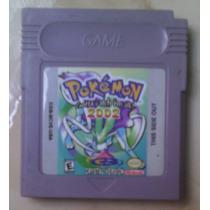 Cartucho Para Game Boy Color Pokemon Cristal Version 2002
