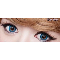Olhos Cosplay - Lens Azul Natural - Pronta Entrega
