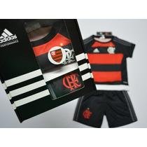 Conjunto Do Flamengo Infantil Kit Adidas Bebe 18 M Original