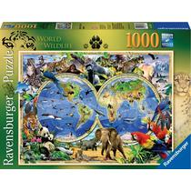 Ravensburger Rompecabezas Fauna Del Mundo 1000 Pz.
