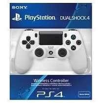 Controle Ps4 Branco Playstation 4 Dualshock 4 Original Sony