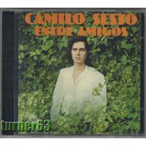 Cd *** Camilo Sesto *** Entre Amigos *** Español Nuevo Sella