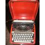 Máquina De Escribir, Portátil, Antigua