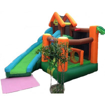 Playground Crianca Infantil Toboga Escorrega Inflavel 110v