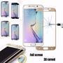 Mica Vidrio Templado Samsung S7 Pantalla Completa + Colores