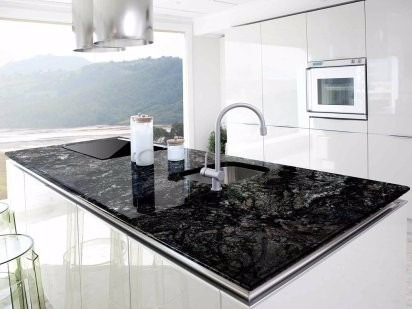 mesada de cocina granito marmol silestone - Marmol Cocina