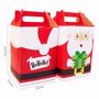 Kit C/ 250 Caixas Sacolas - Papai Noel - Natal