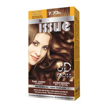 Issue 3d Kit Gloss Tintura N-7/73 Rubio Chocolate X 3u