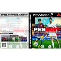 Futebol Patch Pes 2017 Playstation 2 - Ps2 - Frete Grátis