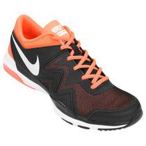 Zapatillas Nike Air Sculpt Tr 2 Mujer (negro+naranja) Mpis M