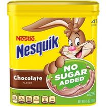 Nestle Nesquik Sin Adición De Azúcar Con Sabor A Chocolate E
