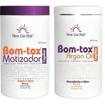 Botox Argan + Bom-tox Matizador Reconstrucao Capilar