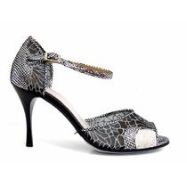 Zapatos De Baile,tango,fiesta,salsa Villone Peltre