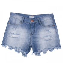 Shorts Jeans Infantil Feminino Acostamento Kids 68824100