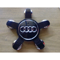 Centro De Rin Audi Emblema Tapa A1 A3 A5 A6 Q2 Q5 Q6 Negro