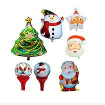 Globos Santa Claus Navidad Al Mayoreo
