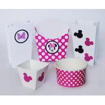 Mimi Mouse Rosa Fiesta Hospital Recuerdo Mesa Baby Shower