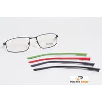 Óculos Troca Hastes Esportivo Em Metal * Armação P/ Grau