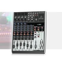 Mesa De Som Mixer Behringer Xenyx 1204 Usb Interface Bi-volt