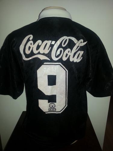 camisa vasco antiga original finta coca cola impecável - 08. Carregando zoom . 3119f0a88b5bf