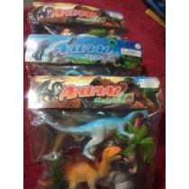 Dinosaurios Set De 4 Juguete