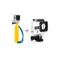 Kit Gopro Caixa Protetora Prova D Água+bastão Boia Flutuante