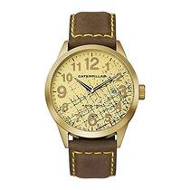 Caterpillar Ex.181.35.818 Reloj Análogo Lujo, Hombre, Oro