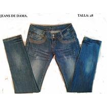 Jeans,pantalon De Dama. Krembo Nuevo Talla 28