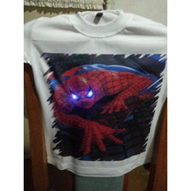 Remeras Con Led Luces