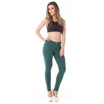 Calça Jeans Feminina Cigarrete Cropped Gold Média Skinny - V