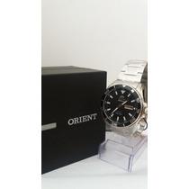 Relógio Orient Automático Mostrador Preto 469ss063+ Frete