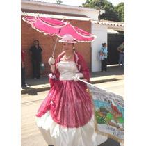 Vestido Dama Antañona