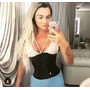 Cinta Modeladora Juju Salimeni Gracyane Barbosa Cor Preta