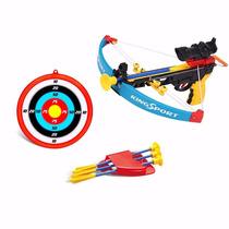 Arco Flecha C/ Infravermelho + Alvo + 4 Flechas Brinquedo