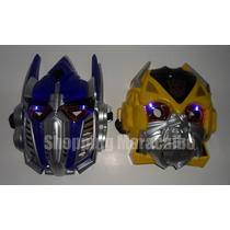 Mascaras De Transformers Con Luces * Somos Tienda Física*