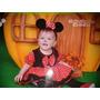 Vestido De Minnie Mouse Rosados, Rojo Y Fuscia