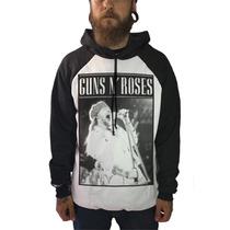 Blusa Guns N Roses Camisetas Moletom Axl Slash Bandas Rock
