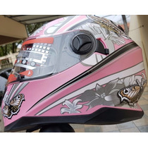 Capacete Butterfly Feminino Mrc Helmets