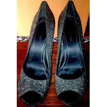 Zapatillas Nine West Con Diamantina Negras 5 Mex