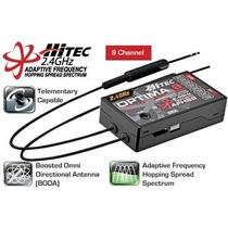 Receptor Receiver Hitec Optima 9 - 9 Canais 2.4ghz 28425 New