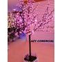 Arvore Natal Cerejeira Leds Top Luxo 2,20m 592l Rosa Bivolt