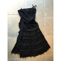 Vestido De Fiesta Negro - Claudia Larreta