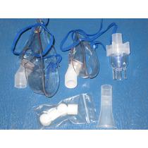 Set Repuestos 2 Mascarillas Y Otros P/ Nebulizadores Gama