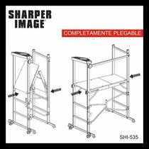 Andamio Multiusos De Aluminio Plegable Sharper Image
