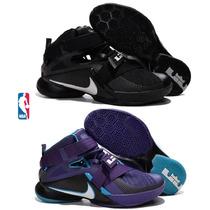 Zapatos Botas Nike Lebron Soldiers Ix 9 Hombre Tenis Air Max