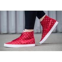 Zapatillas Nike Primo Court Mid Premium - Botitas Dama Tela